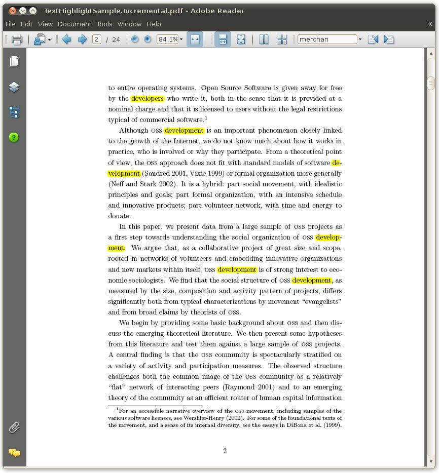 how to undo highlight in pdf